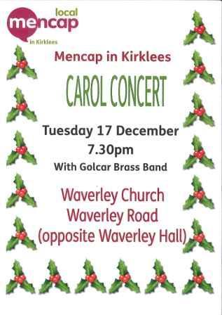 Carol Concert Tuesday 17 December