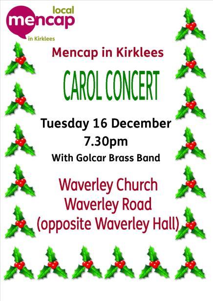 Carol Concert Flyer 2014
