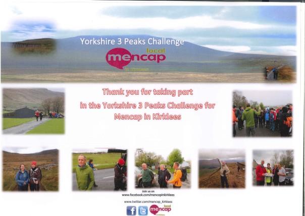 3 Peaks Challenge Poster