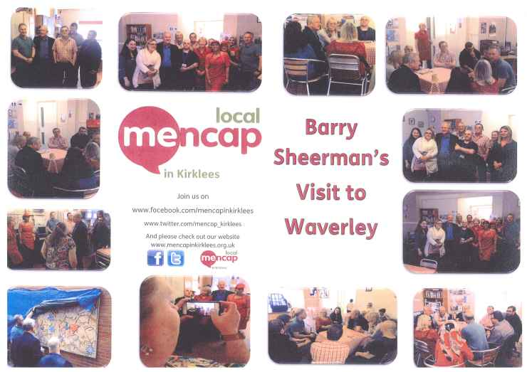 Barry Sheerman's Visit to Waverley