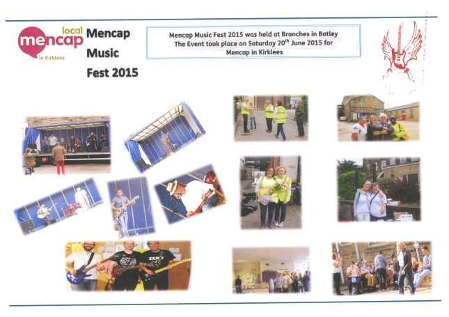 A few photographs from Mencap Music Fest