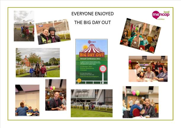 The Big Day Out - 21.10.15 - Poster of photographs